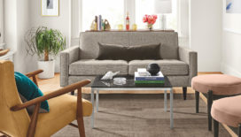 seating area in small living room