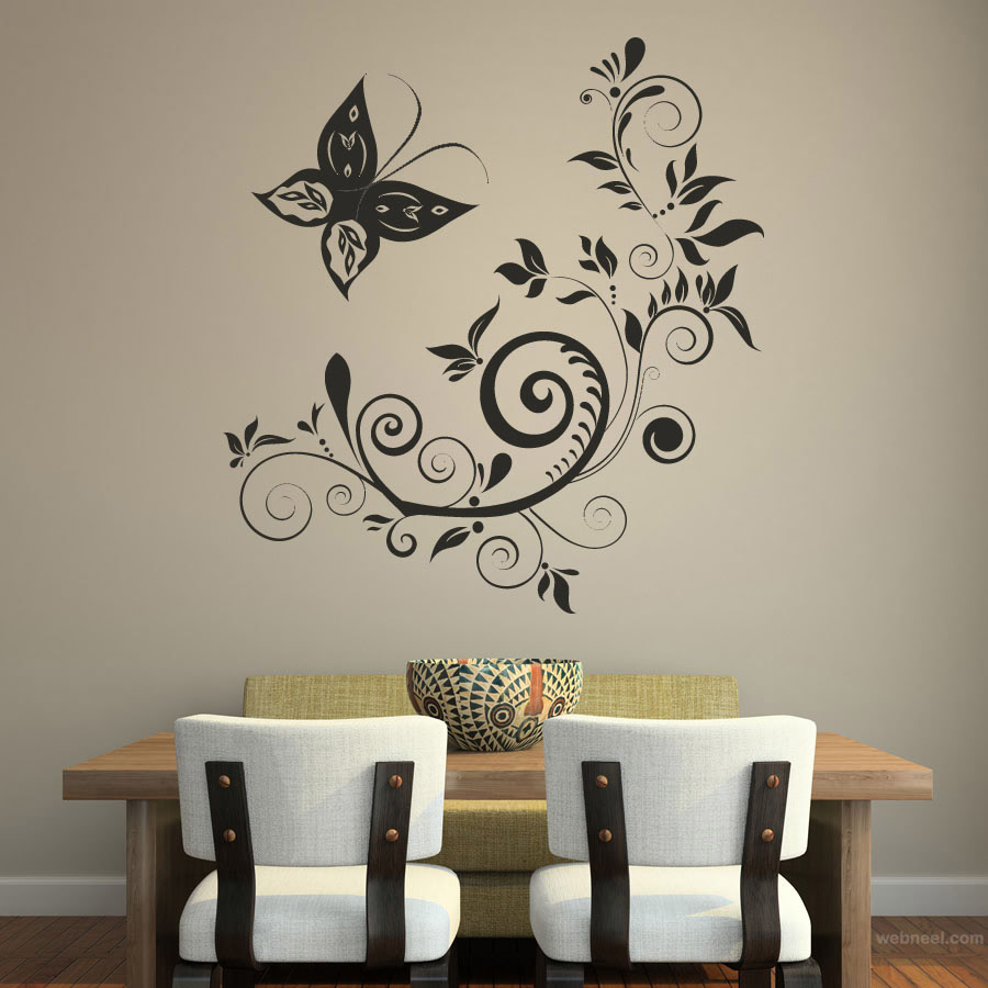 beautiful wall painting