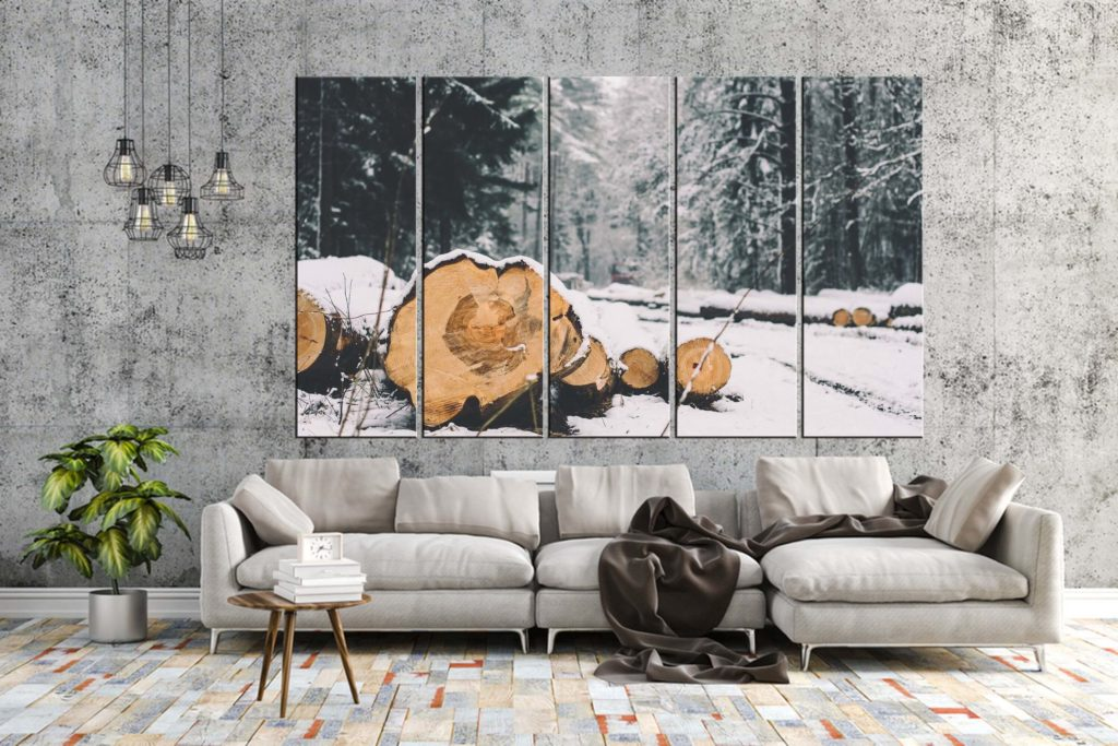 wall winter decorating ideas