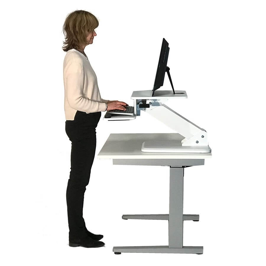 sit stand desks for small space
