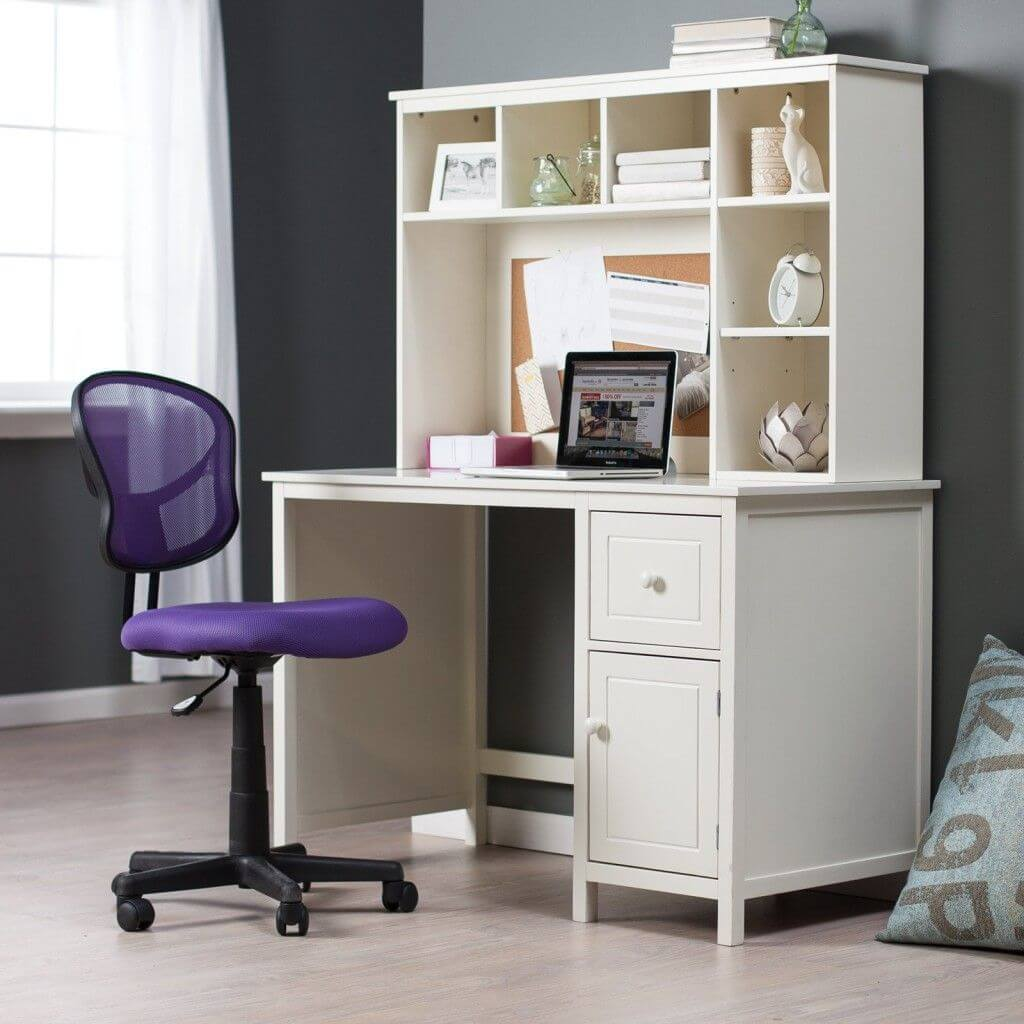 Rack desks for small spaces