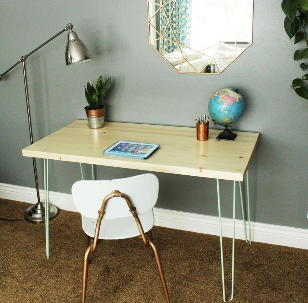 hair pin leg desks