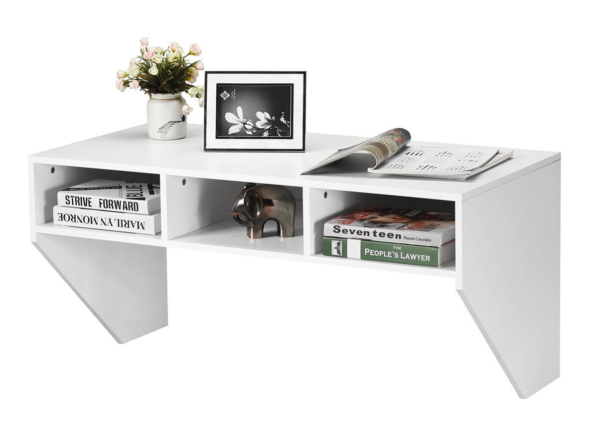 Floating drawer desks for small space
