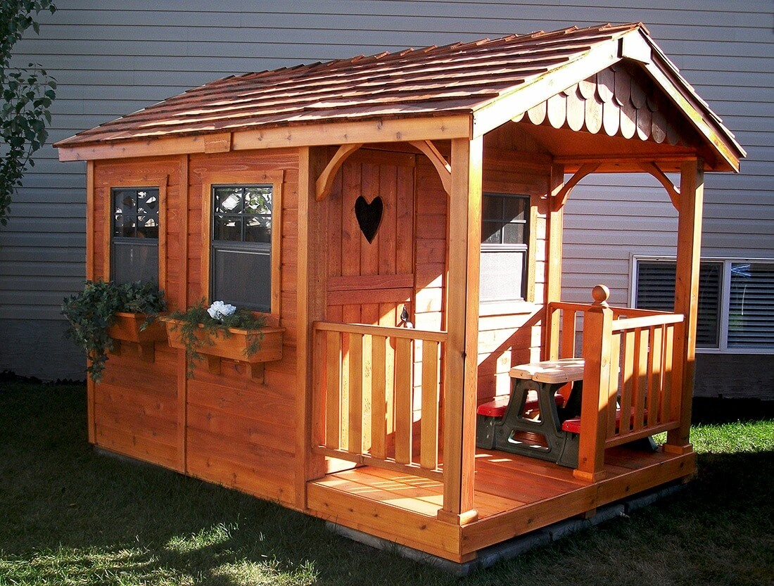 how to build a playhouse