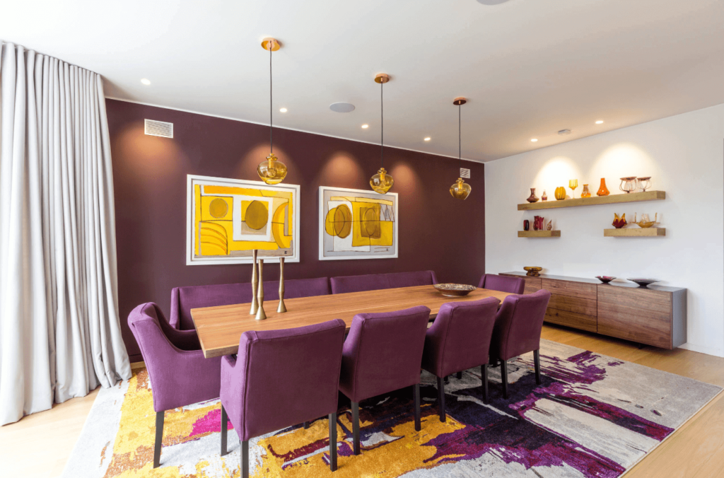 10 Eccentric Colors That Go With The Purple For An Exceptional Place