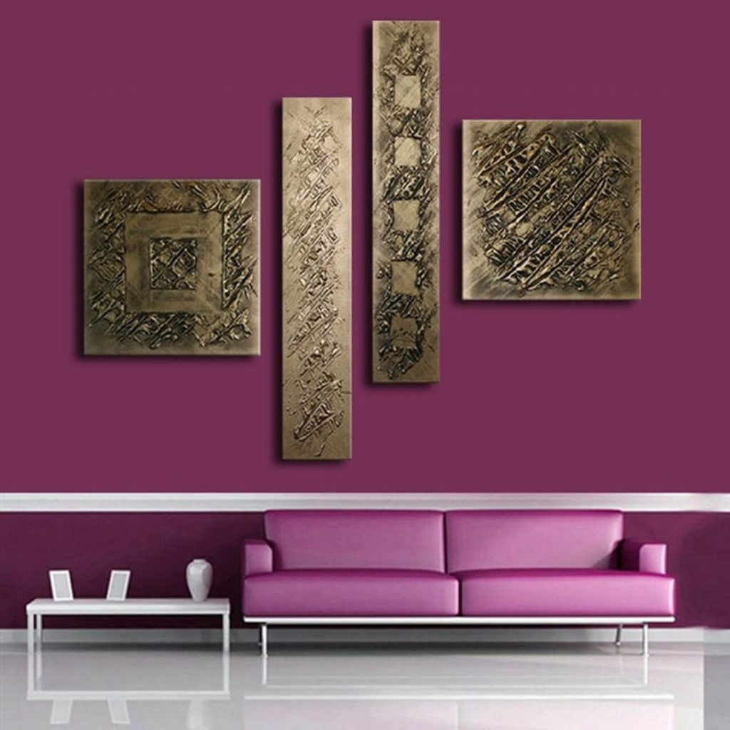 Bronze Frames on Wall