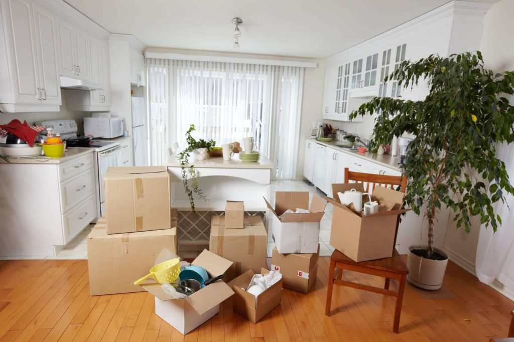 moving from one house to another