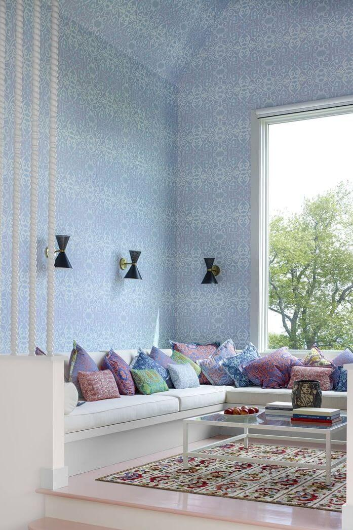 15+ Best Living Room Wallpaper Ideas For A Memorable Statement