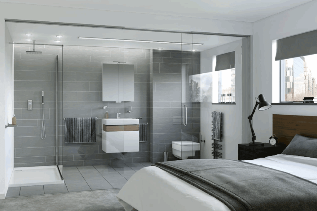 Ensuite Bathroom: 21+ Stunningly Modern & Minimalist Bath Designs For Small Spaces in 2020!