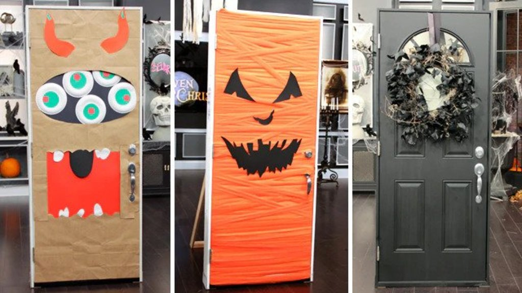 Halloween Door Decorations: 12 Amazing Ideas to Decorate it in the Best Way