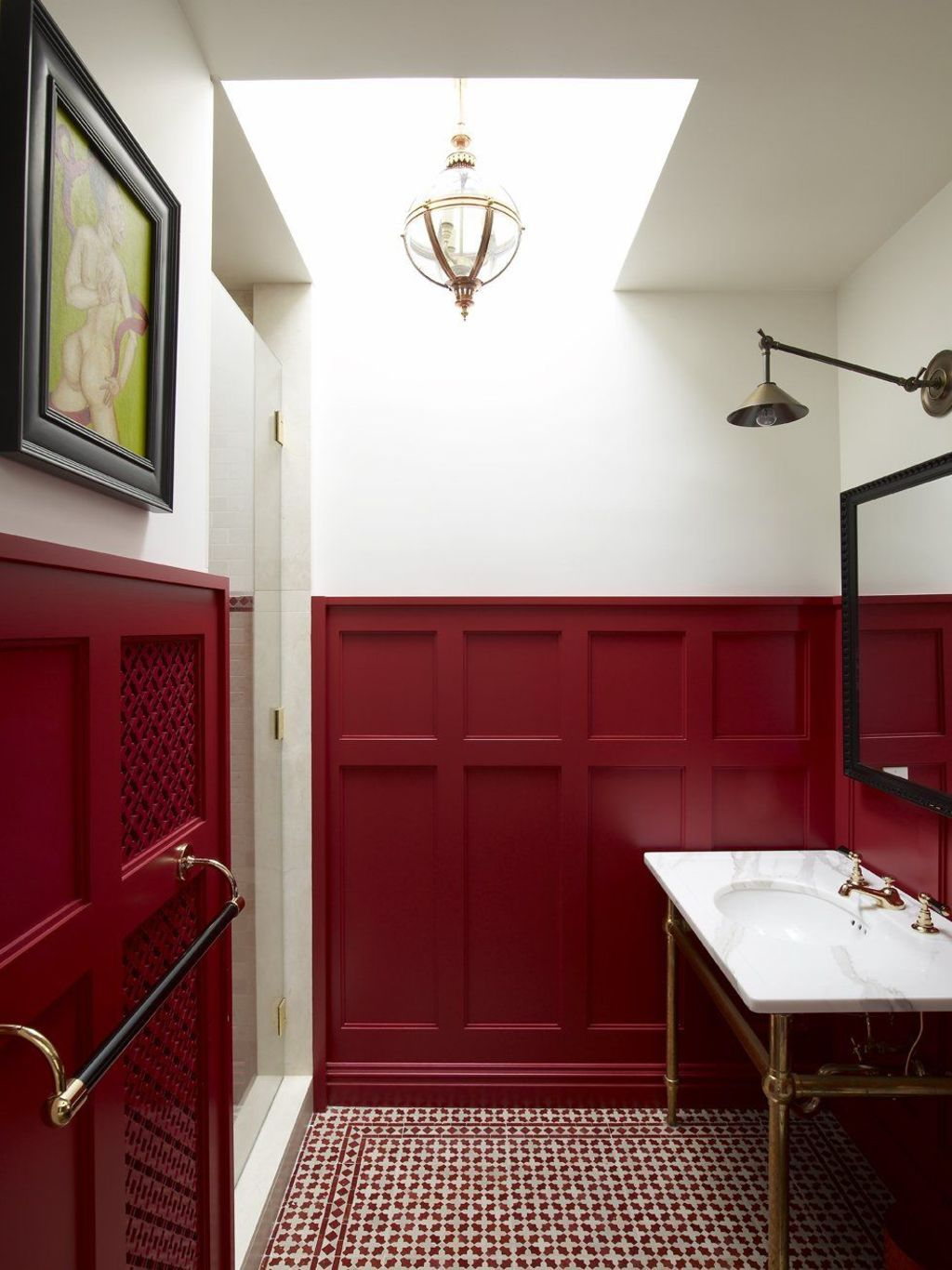 wainscoting bathroom ideas