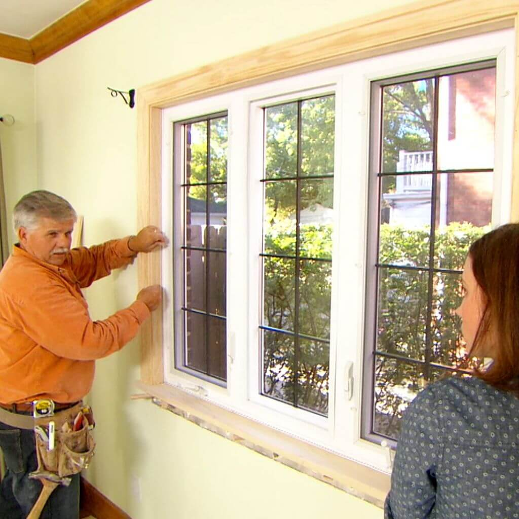 interior window trim