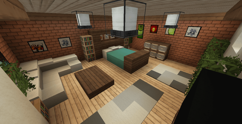 Minecraft Interior Design Ideas: 23 Interesting Ideas to Design Your Minecraft Houses