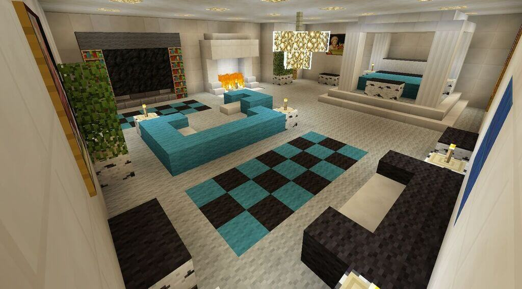 Minecraft Living Room Ideas: Retro to Modern Keeps Scrolling!