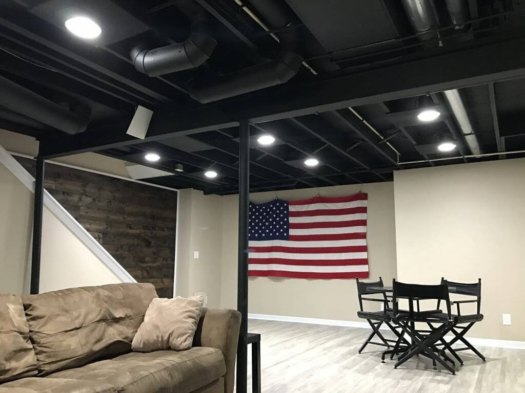 13 Elegant and Affordable Basement Ceiling Ideas