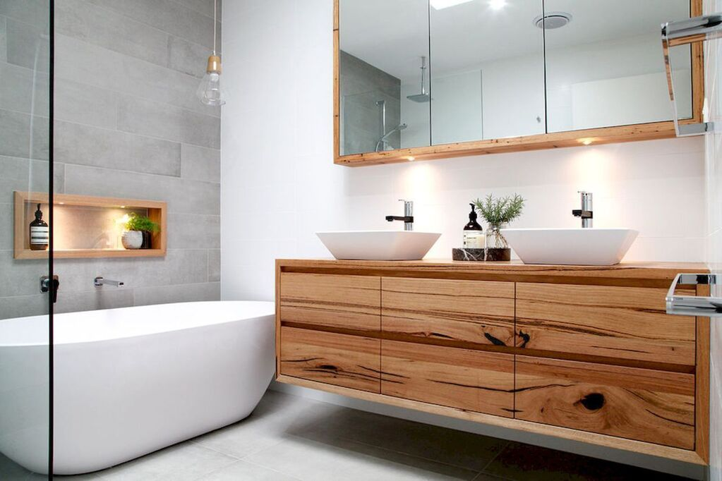 11 Exquisite Yet Affordable Mid Century Modern Bathroom Ideas