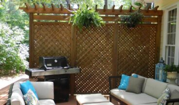 outdoor privacy screen