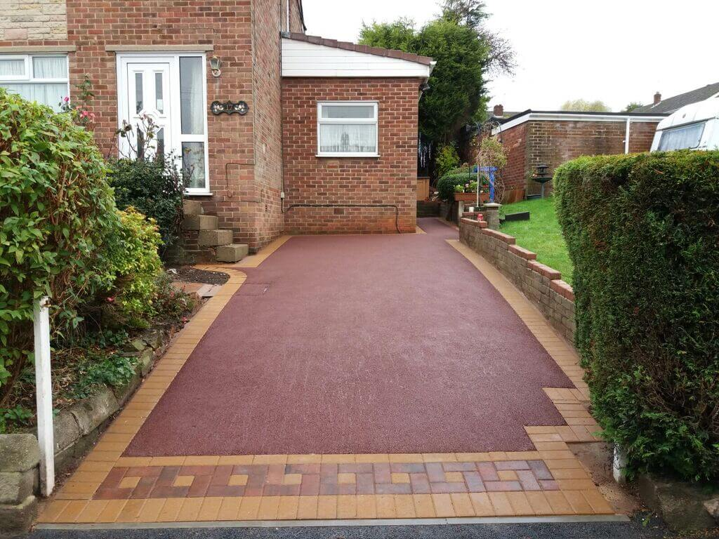 Coloured Tarmac Driveways