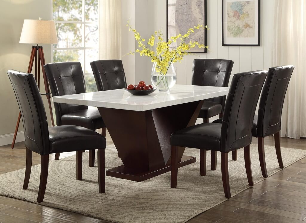 Styling a Marble Dining Table: 12 Trending Dining Tables