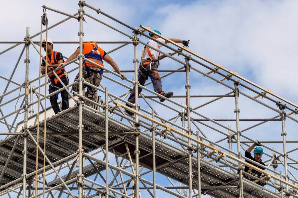 Types of Scaffolding Used in the Construction Industry