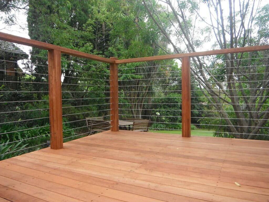 railing design for house front: Metal Wire Railings