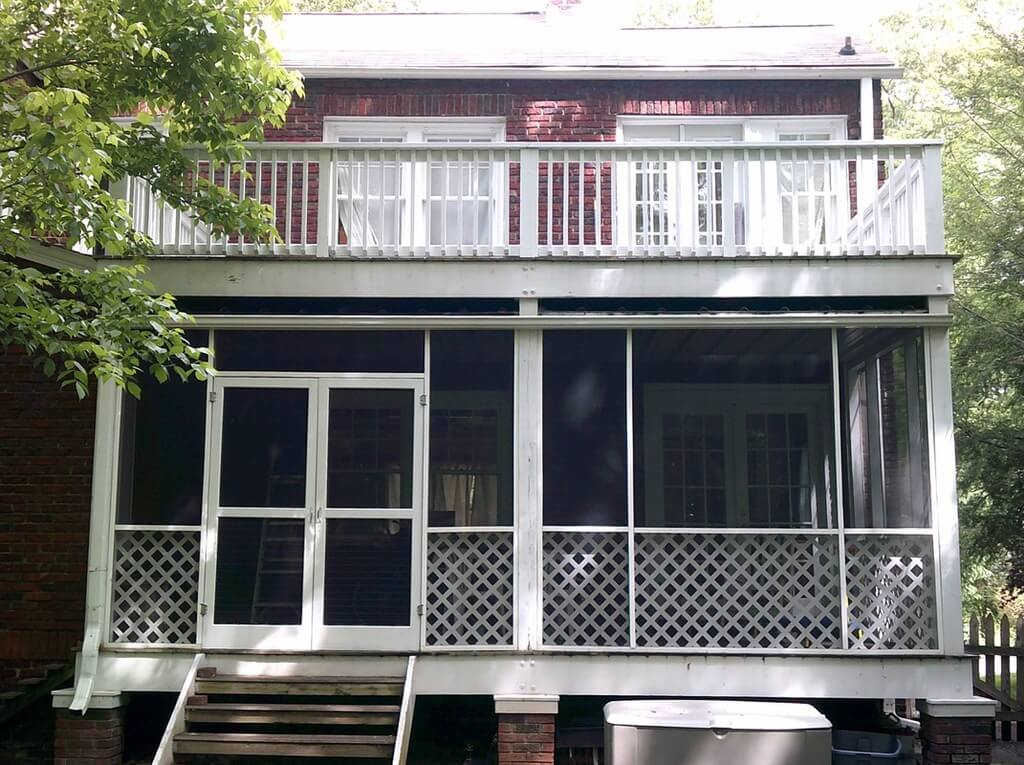 railing design for house front: Attractive Screened Railings