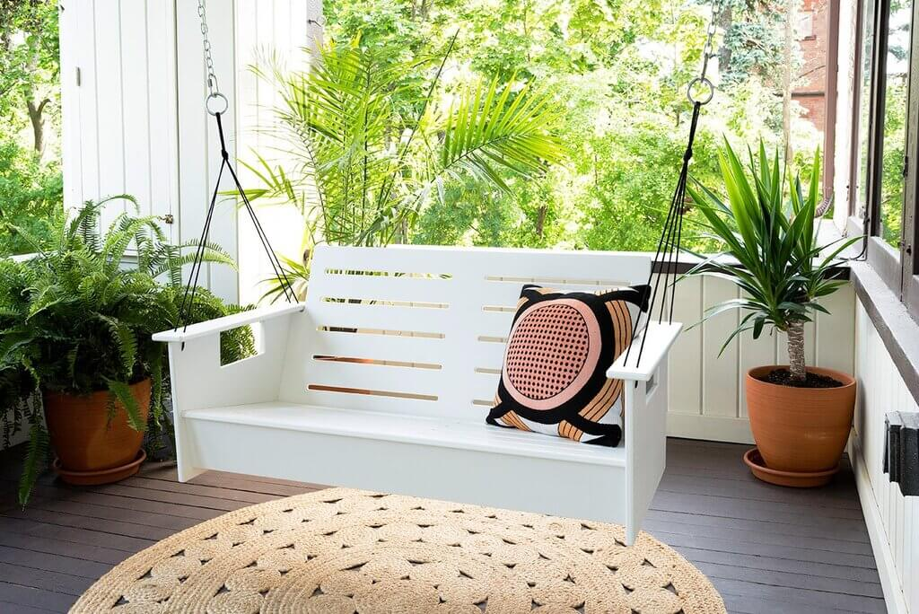 Take Care of Your Mental Health with a Porch Swing
