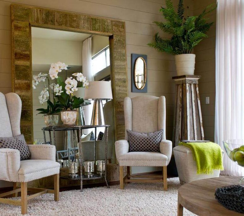 Mirror Can Visually Affect Your Living Area