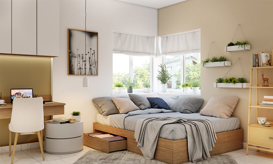 Compact and Space Saving: 15 Beds for Small Rooms Ideas